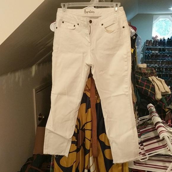 Boden Denim - Boden white jeans